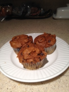 Yummy Pumpkin Spice Muffins